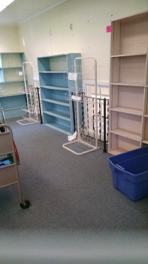 The children's room. All cleared out.
