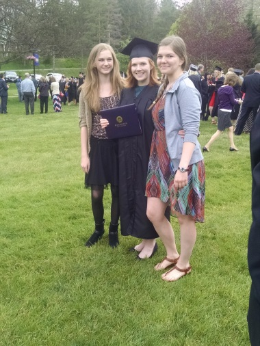 Lovely Lauren with her sisters