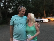 Awesome friends, Rick and Claire, in Ct. Love their love.
