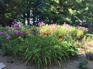 Gorgeous gardens at Rawling's Nursery in Ellisburg, NY