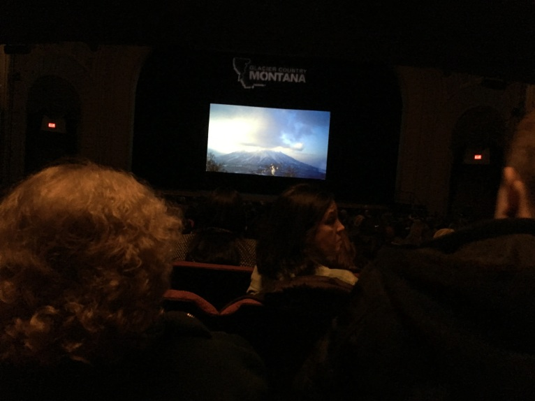 Kicking off the ski season and the wedding weekend with 19 friends/family members watching the Warren Miller film in Rochester.