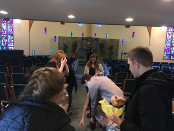 Decorating the chapel