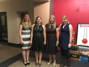 My aunt, Linda (CJ's godmother), and her daughters Hannah, Cassie and Emily. Amazing people!