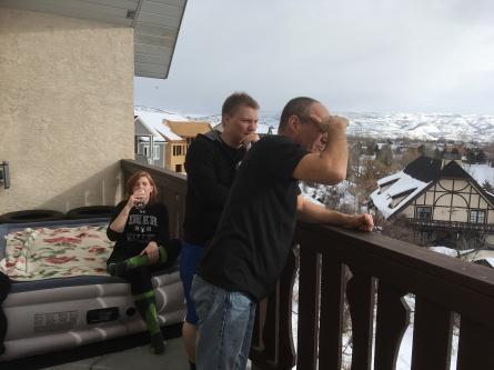 Visiting CJ and Lauren in Utah