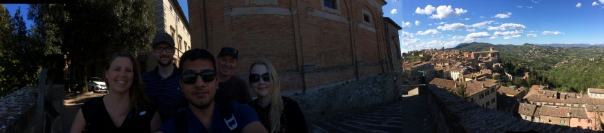 Co-workers in Perugia