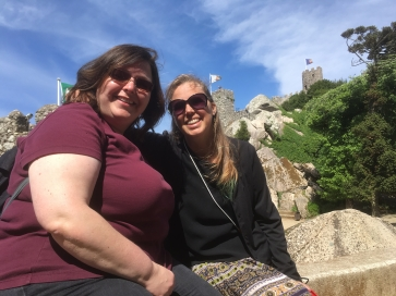 Lise and Chrissie at Sintra