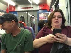 Even the train ride is fun