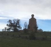Lincoln sculpture