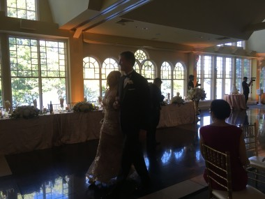 Parents Walking into Reception
